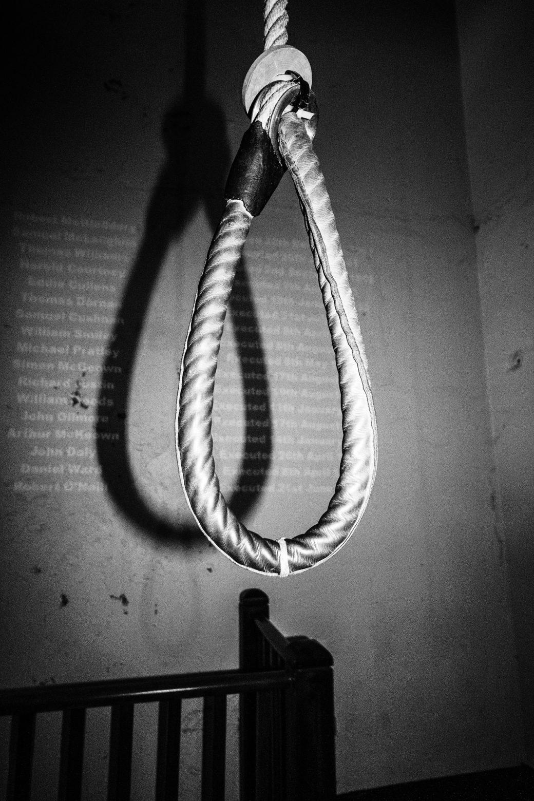 """「絞首刑?」 """"Death by hanging !"""" その②"""