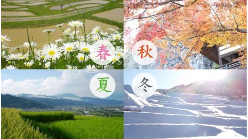 日本の季節を表わす言葉