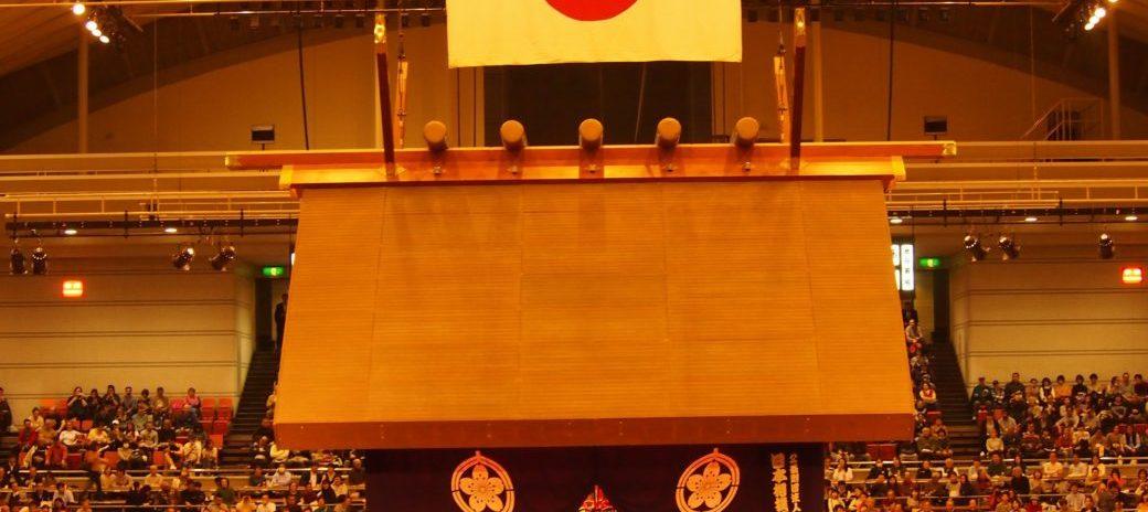 相撲の神様の応援を背に優勝!