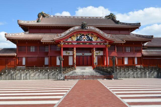 首里城(沖縄県)・正殿