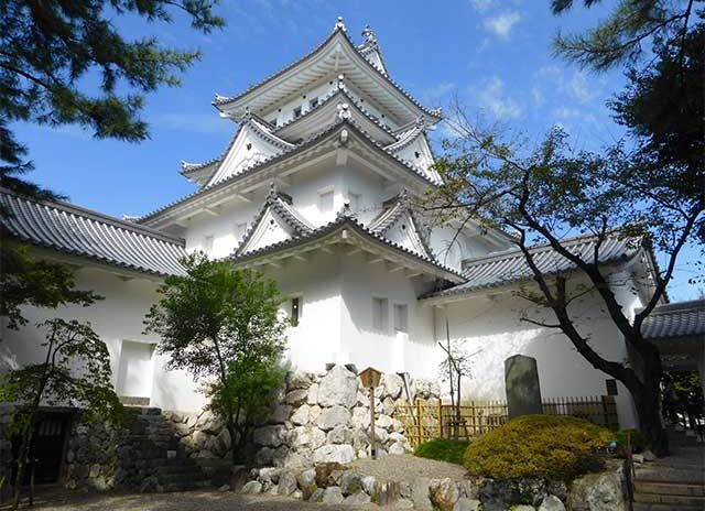 大垣城(岐阜県)の外観復元天守