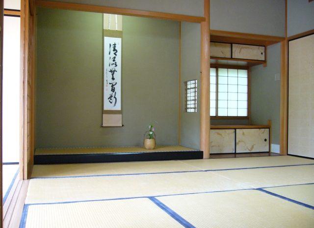 部屋の入退室の作法~和室~